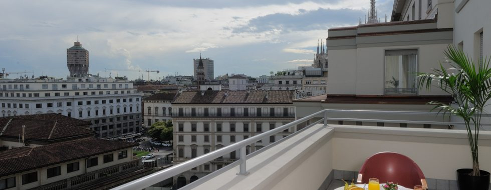 iH Hotels Milano Ambasciatori- Superior Room Terrace